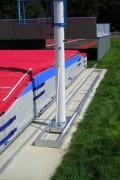 Rail rideau