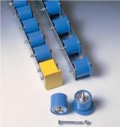Rails à galets pour charges lourdes - Pas disponibles (mm) : de 66 à 200