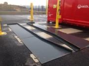Rails de guidage bennes ou compacteurs - Longueurs disponibles = 4m, 6m, 7 m