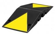 Ralentisseur de trafic poids lourds - Longueur : 600 mm - Largeur :  250 mm - Hauteur : 70 mm