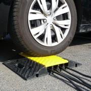 Ralentisseur vitesse protège câbles - Capacité de charge : 10 tonnes