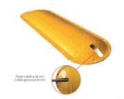 Ralentisseurs en acier - Hauteur : 48 mm - Longueurs : 250 mm / 1000 mm