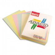 Ramette papier 40 feuilles couleur ADAGIO+ 80g A4 - 40 feuilles couleur ADAGIO+ 80g A4 pastel et vif