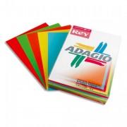 Ramette papier 40 feuilles couleur ADAGIO 80g A4 - 40 feuilles couleur ADAGIO 80g A4