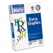 Ramette papier blanc text and graphic paper 80 g A4 - 500 feuilles blanc text and graphic paper