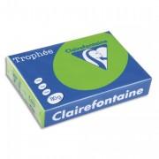 Ramette papier couleur TROPHEE 80g A3 bleu turquoise - 500 feuilles Trophée  Clairefontaine 80g A3 bleu turquoise