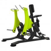 Rameur pour musculation complète du corps - Machine de fitness siège en simili cuir et poignées alu