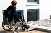 Rampe accès pour personnes handicapées - Capacité : 300 kg/unit
