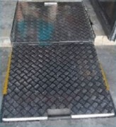 Rampe amovible encastrable - Capacité de charge : 300 à 450 kg