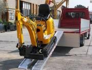 Rampe BTP aluminium - Capacité: de 237 kg à 26 300 kg -  en aluminium