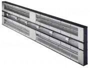 Rampe chauffante avec éclairage - Intercalaire de 152 mm