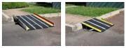 Rampe d'accès antidérapante - Avec ou sans bords sécurité
