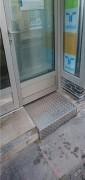 Rampe d'accès encastrée - Capacité de charge 300 kg
