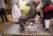 Rampe d'accès handicapés - Longueur : entre 1 220 et 3 970 mm