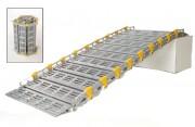 Rampe d'accès handicapés 450 Kg - Charge max supportée (Kg) : 280 à 450
