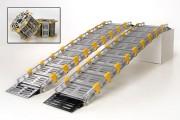 Rampe d'accès modulaire double - Capacité de charge maximale : 900 kg