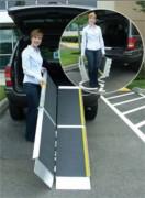 Rampe d'accès pliable - Pliage en 3 parties - Résiste à un poids de 362 kg