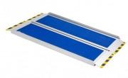 Rampe d'accès pliable pour PMR - Rampe d'accès pliable et portable  -  Capacité de charge : 300kg
