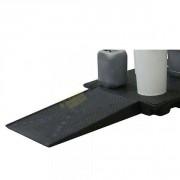 Rampe d'accès pour plateforme de rétention - Dimensions (L x l x h) : 1200 x 800 x 150 mm