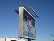 Rampe d'éclairage pour panneau publicitaire - Format :  6, 8 et 12 m²