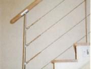 Rampe d'escalier en fer avec câble - Rampe avec câble