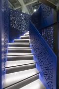Rampe d'escalier perforée - Rampe d'escalier perforée, décoration intérieure