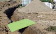 Rampe de chantier en polyéthylène renforcée - Capacité de charge : 1000 kg