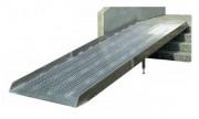 Rampe de chargement à surface antidérapante - Capacité : 400 Kg/unit