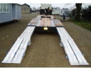 Rampe de chargement alu poids lourds - Capacité : de 7190 à 13580 kg/paire
