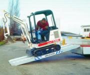 Rampe de chargement aluminium - Capacité de charge : De 750 à 6200 kg