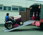 Rampe de chargement avec rebords - Capacité de charge : De 2900 à 6000 kg par paire