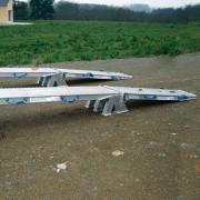 Rampe de chargement en aluminium - Capacité : de 10150 à 22740 kg/paire