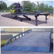 Rampe de chargement mobile industrielle - Indispensable à tout rattrapage de niveau depuis le sol