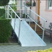 Rampe de chargement pour escaliers - Capacité : 400 kg/unit