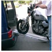 Rampe de chargement pour motos - Chargement de petits véhicules et de machines lourdes