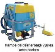 Rampe de désherbage - Rampe de désherbage vignes ou vergers - Avec ou sans cache