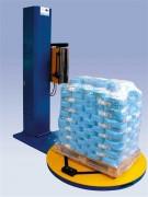 Rampe de rétraction à plateau semi automatique - Puissance : 1.5 KW - Capacité : 15 palettes par heure - Dimensions : 1650 x 3000 x 85 mm