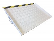 Rampe de seuil en aluminium PMR - Rampe de seuil LINE large 75 cm