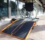 Rampe handicapé amovible