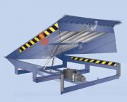 Rampe hydraulique à lèvre rabattable - Système hydraulique - Mode de commande électromécanique