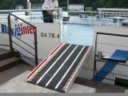 Rampe mobile handicapés - Conforme à la réglementation ERP