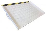 Rampe pour handicapé - Pour tous les types de sol - Surface à reliefs
