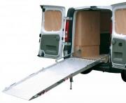 Rampes chargement repliables pour fourgons - Rampes en aluminium