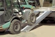 Rampes de chargement btp - Rampes en aluminium pour pneumatiques et chenilles caoutchouc