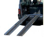 Rampes de chargement en aluminium pour fourgons - Capacité : de 310 à 370 kg/paire