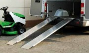 Rampes de chargement grandes largeurs - Rampes en aluminium - grandes largeurs