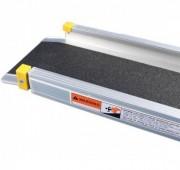 Rampes télescopiques pour accès PMR en aluminium - Rampe d'accès télescopique avec revêtement antidérapant