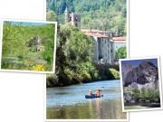 Randonnée canoe kayak en Auvergne - 1 à 7 jours pour toute la famille