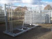 Rangement pour clôtures grillagées - Capacité : 20 clôtures grillagées