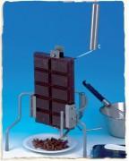 Râpe à chocolat professionnelle - Bloc de chocolat de 2,5 kg râpé entre 35 et 45 mm
